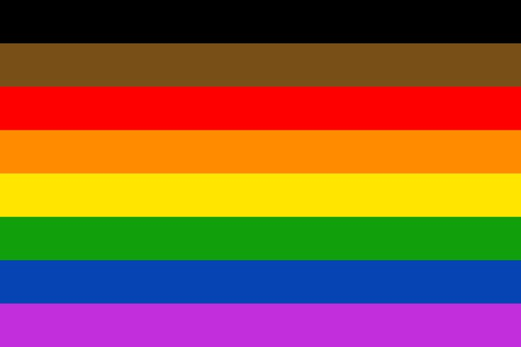 Philly adds black and brown stripes to LGBTQ flag | PhillyVoice