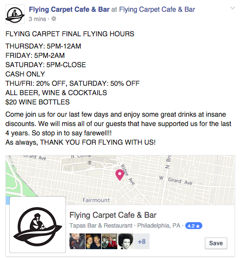 Photo Of Flying Carpet Cafe Bar Philadelphia Pa United States