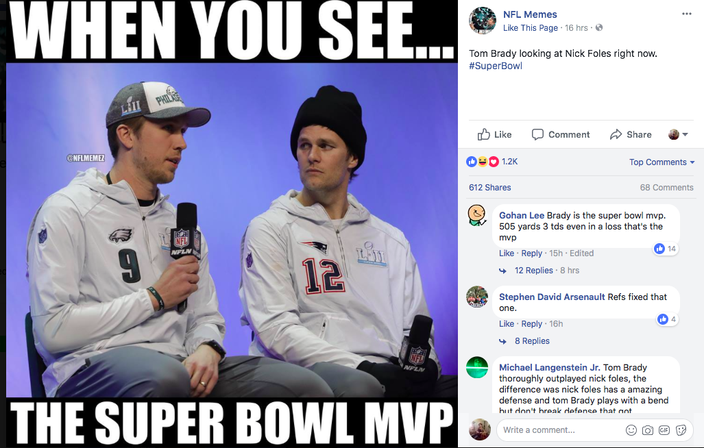 Here You Go Eagles Fans The Best Sad Tom Brady Memes