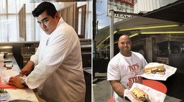 Jose Garces Pat's King of Steaks