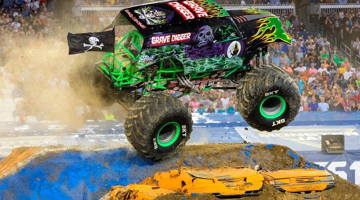 Monster Truck at Monster Jam