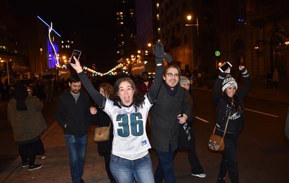 Eagles victory