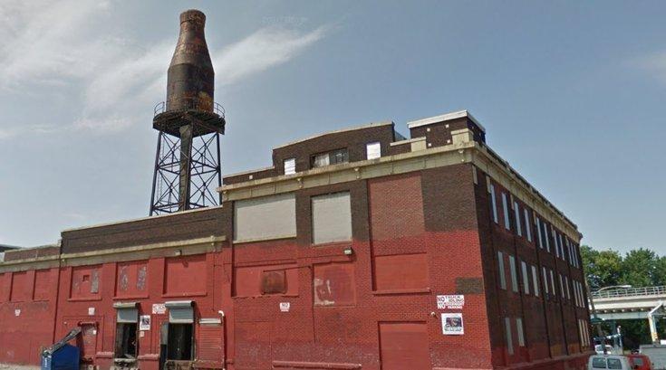 Harbison's milk bottle tower