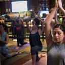 Hard Rock Cafe yoga
