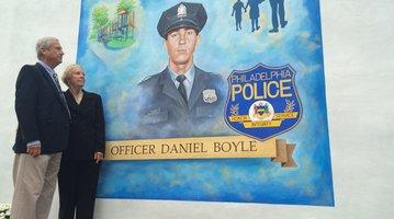 Boyle memorial mural