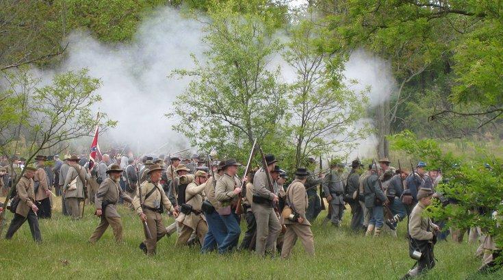 Neshaminy State Park Civil War