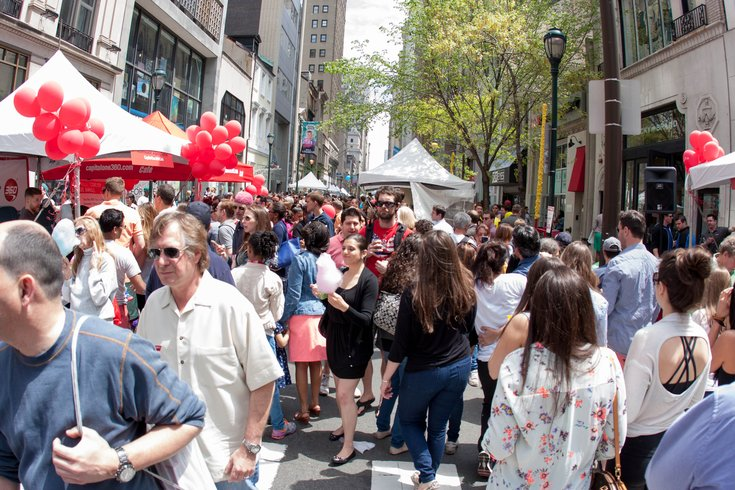 Rittenhouse Row Spring Fest