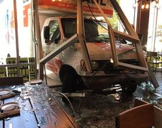 U-Haul crash