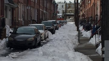 Fishtown snow 1