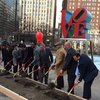 Love park groundbreaking 1