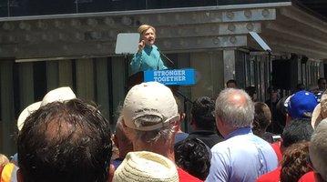 Hillary in Atlantic City