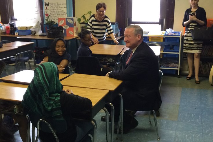 Mayor Kenney at Stanton May 2016