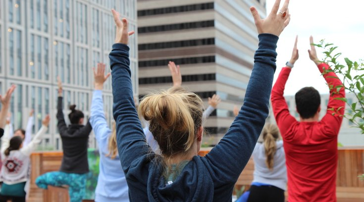 Rooftop Yoga Experience