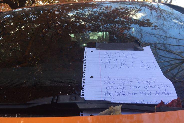 Parking War