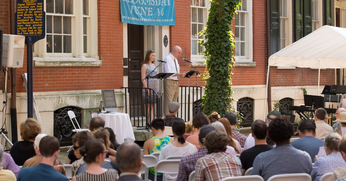 Rosenbach 39 S Annual Bloomsday Celebration To Feature Beer Garden For Summer 2017 Phillyvoice