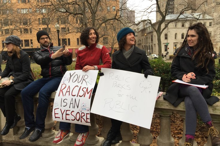 Rittenhouse Square sit-in