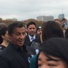 Sylvester Stallone returns to Rocky Steps
