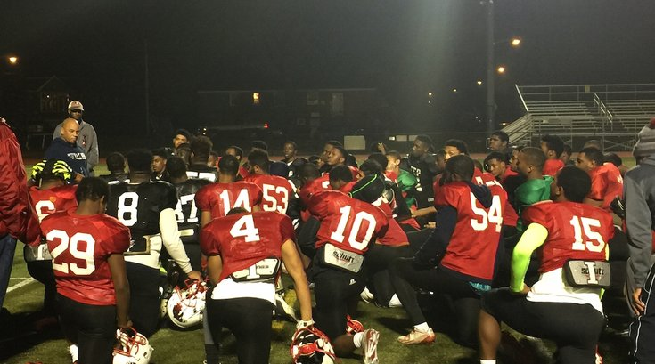 Imhotep Panthers after practice