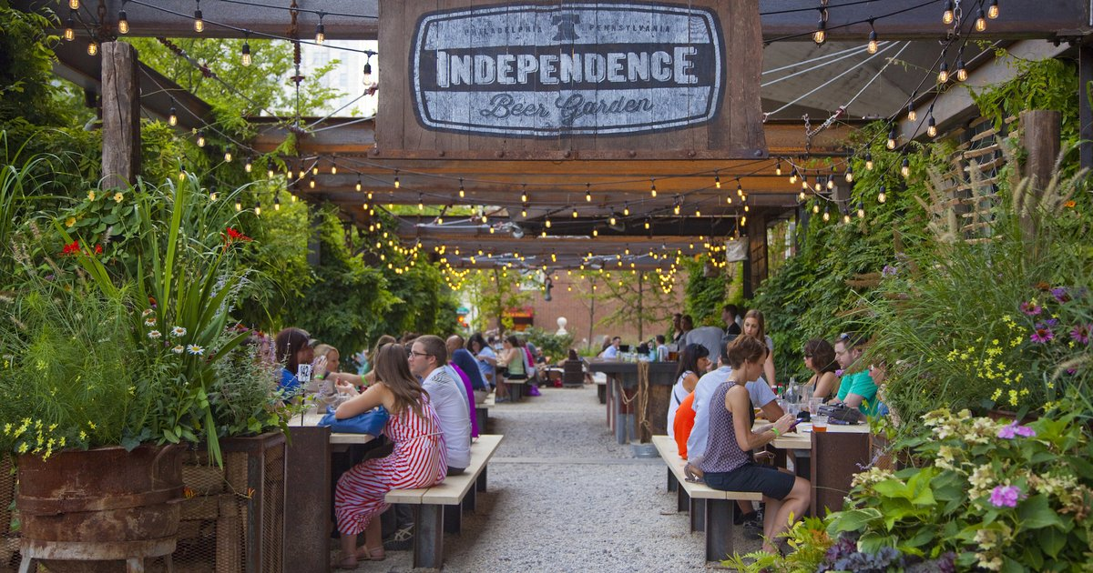 Independence beer garden to open in april phillyvoice Independence beer garden philadelphia pa