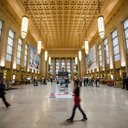 Inside 30th Street Station