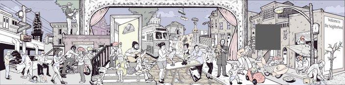 Kilpatrick Carney Mural