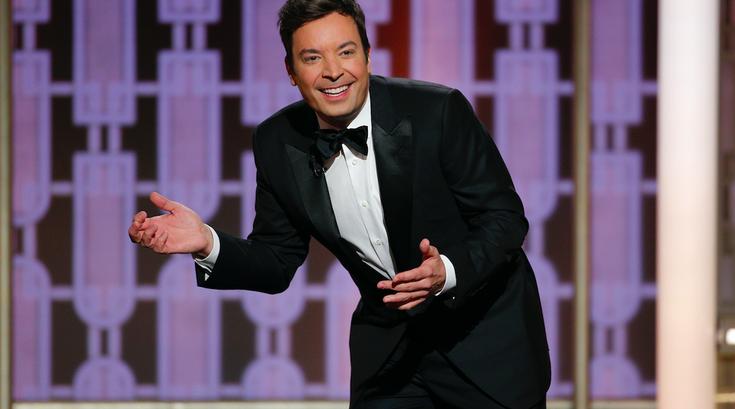 Jimmy Fallon Golden Globes