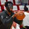 Embiid Mask Game Three Heat