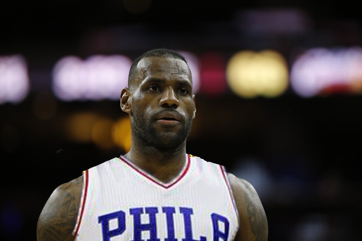 Would Lebron James put the Sixers in the NBA Finals ...