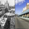 Carroll - Then and Now Ben Franklin Bridge
