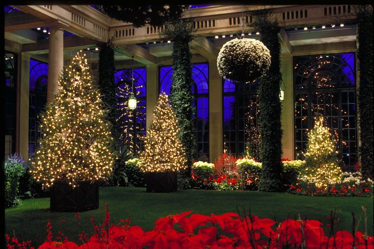 Longwood Gardens Christmas light show | PhillyVoice