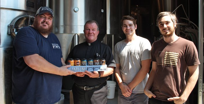 Presentation of Beer Father Kelly