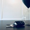 Car Keys and Hour Glass
