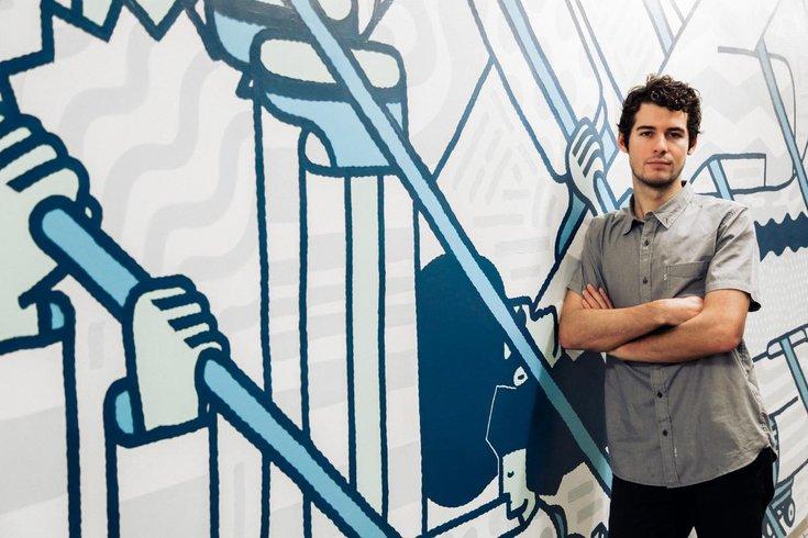 Nate Harris A&G Mural