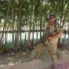Chris Serle in uniform