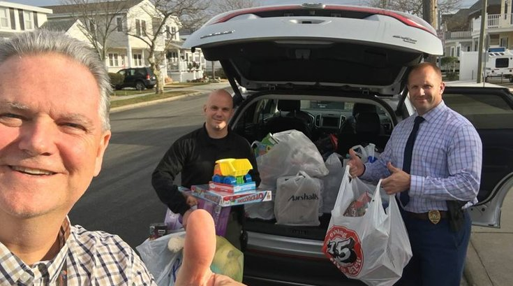 Christmas toy theft - North Wildwood