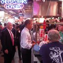 Obama at Reading Terminal Market