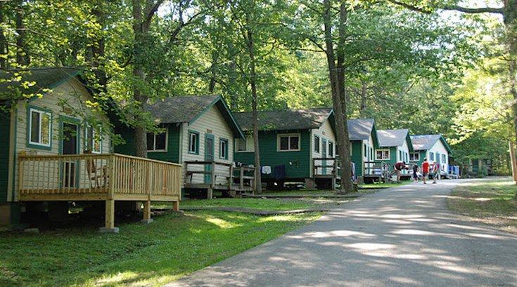 Owego Cabin Exterior