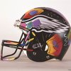Peter Max painted an Eagles helmet