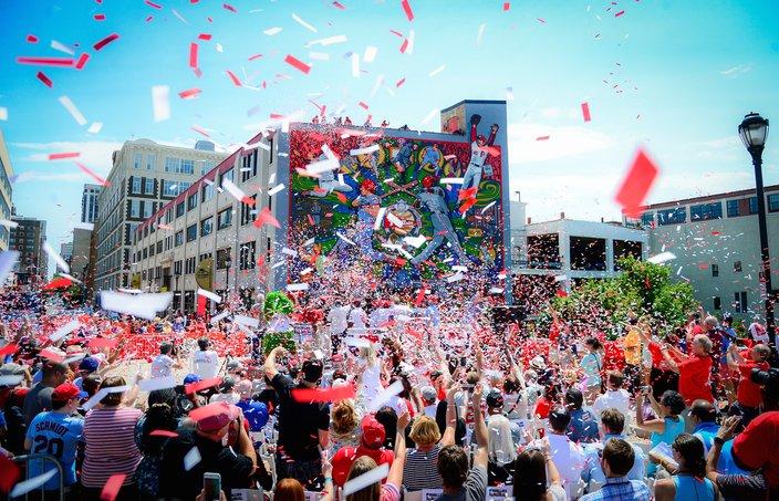 Phillies Mural Celebration