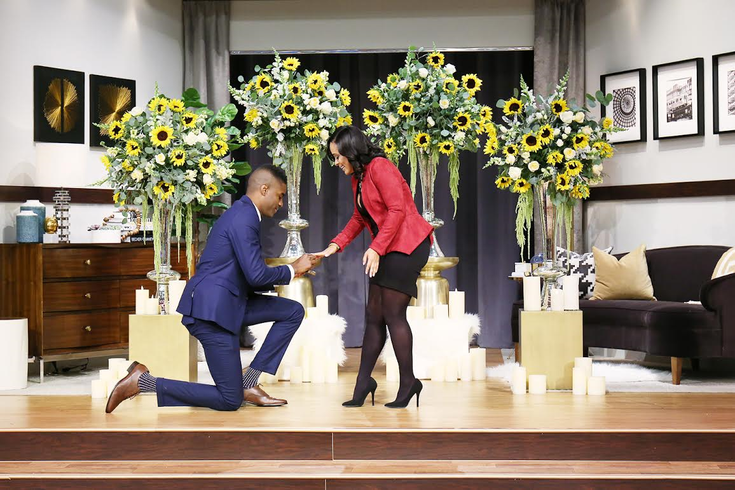 Watch Philly Man Proposes To Girlfriend On Steve Harvey Show