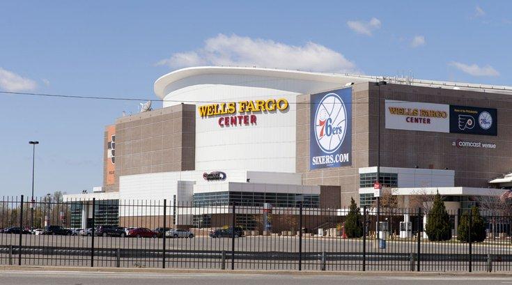 PhillyStock_Wells_Fargo_Center_Stadium_Complex