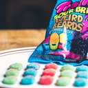 Trolli's Sour Brite Weird Beards: James Harden Edition
