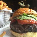 Pinefish burger