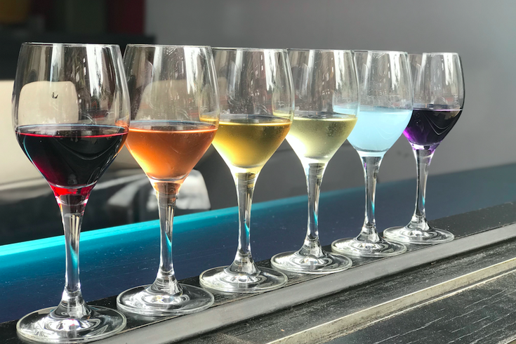 Rainbow wines for Pride Month