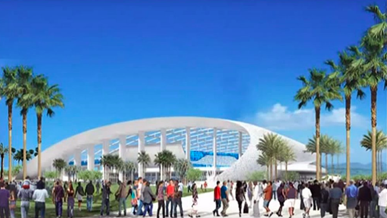 Here Are Renderings Of The Proposed 1 8 Billion L A Rams