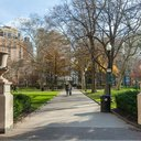 Rittenhouse Square offers an upscale shopping experience