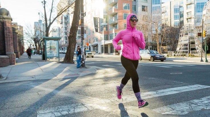 Runner in Philadelphia
