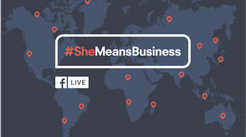 She Means Business Facebook Live Event