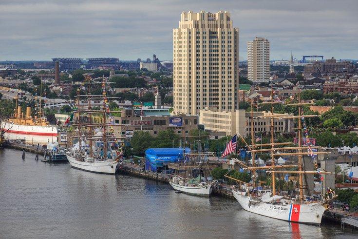 Philadelphia waterfront