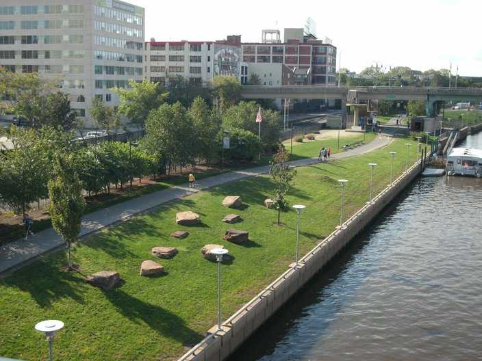 The Schuylkill Banks.